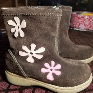 Suede boots. Girls toddler size 11